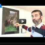 """27/05/2013 – La exposición """"Paisajes de la montaña alicantina"""" en Alacantí TV"""